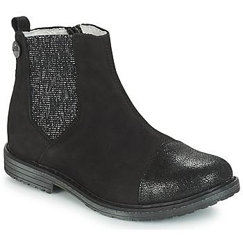 kengät Tytöt Bootsit GBB LEONTINA Musta