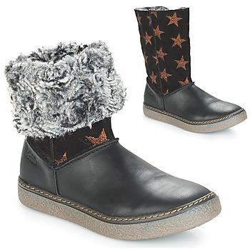 kengät Tytöt Saappaat Achile DUBROVNIK Black