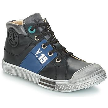 kengät Pojat Bootsit GBB RUFINO Black