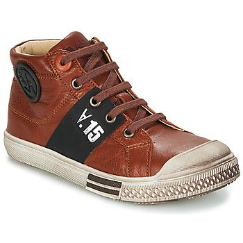kengät Pojat Bootsit GBB RUFINO Brown