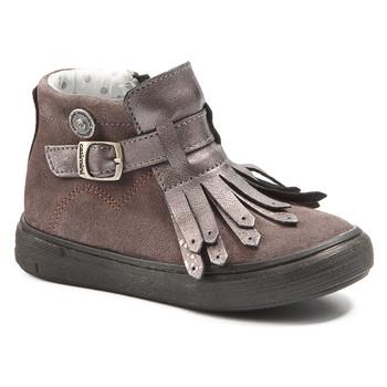 kengät Tytöt Bootsit Catimini RUTABAGA Vihreä / keltainen / musta / De / Pink / Dch