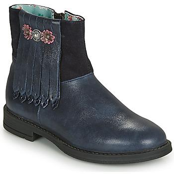 kengät Tytöt Bootsit Catimini RENOUEE Laivastonsininen