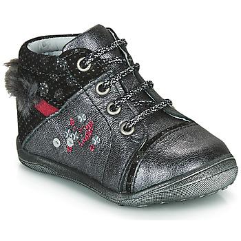 kengät Tytöt Bootsit Catimini ROULETTE Grey / Hopea