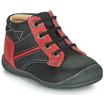 kengät Pojat Bootsit Catimini RATON Black / Red