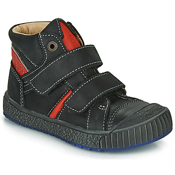 kengät Pojat Korkeavartiset tennarit Catimini RAIFORT Black / Red