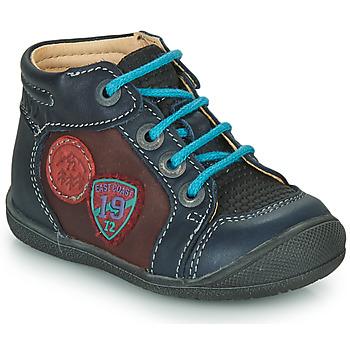kengät Pojat Bootsit Catimini REGLISSE Sininen-viininpunainen / Dpf / Kimbo