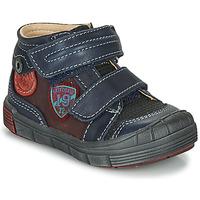 kengät Pojat Bootsit Catimini ROMARIN Laivastonsininen / Bordeaux