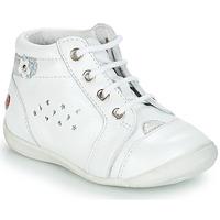 kengät Tytöt Bootsit GBB SIDONIE White / Dpf / Kezia