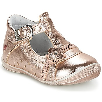 kengät Tytöt Balleriinat GBB SIXTINE Pink / Kulta