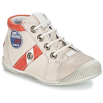kengät Pojat Bootsit GBB SILVIO Beige-punainen / Dpf / Raiza