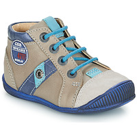 kengät Pojat Bootsit GBB SILVIO Beige / Blue