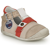 kengät Pojat Sandaalit ja avokkaat GBB STANISLAS Beige-punainen / Dpf / Raiza