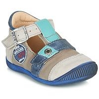 kengät Pojat Sandaalit ja avokkaat GBB STANISLAS Vihreänsininen / Dpf / Raiza