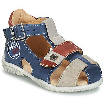 kengät Pojat Sandaalit ja avokkaat GBB SULLIVAN Blue / Beige / Brown