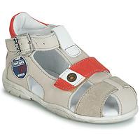 kengät Pojat Sandaalit ja avokkaat GBB SULLIVAN Beige / Red