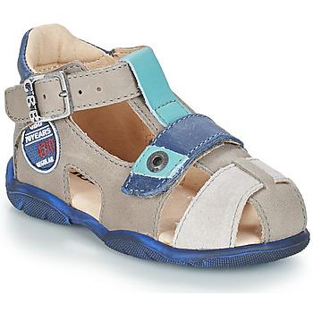 kengät Pojat Sandaalit ja avokkaat GBB SULLIVAN Grey / Blue