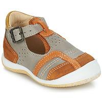 kengät Pojat Sandaalit ja avokkaat GBB SIGMUND Taupe / Konjakki