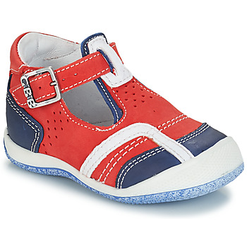 kengät Pojat Sandaalit ja avokkaat GBB SIGMUND Red / Blue