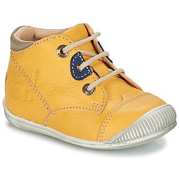 kengät Pojat Bootsit GBB SAMUEL Keltainen