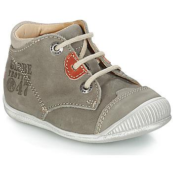 kengät Pojat Bootsit GBB SAMUEL Harmaa