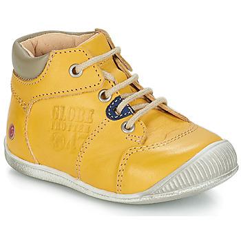 kengät Pojat Bootsit GBB SIMEON Yellow / Dpf / Raiza