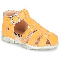 kengät Pojat Sandaalit ja avokkaat GBB PRIGENT Keltainen
