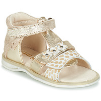 kengät Tytöt Sandaalit ja avokkaat GBB SYLVIE Gold