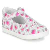 kengät Tytöt Balleriinat GBB SABRINA Grey / Pink / White