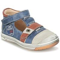 kengät Pojat Sandaalit ja avokkaat GBB SOREL Laivastonsininen / Brown