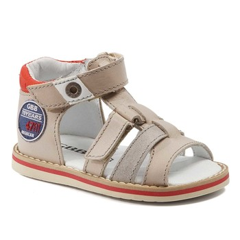 kengät Pojat Sandaalit ja avokkaat GBB STEFAN Beige-punainen / Dpf