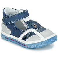 kengät Tytöt Balleriinat GBB SALVADORE Blue / Grey