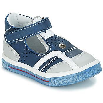 kengät Tytöt Balleriinat GBB SALVADORE Sininen / Harmaa