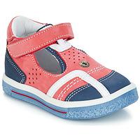 kengät Tytöt Balleriinat GBB SALVADORE Punainen / Sininen