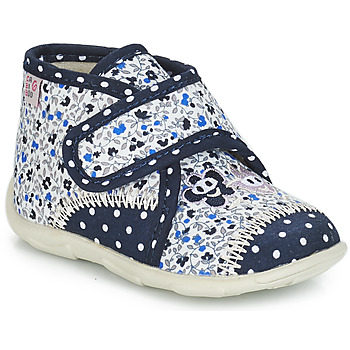 kengät Tytöt Tossut GBB PASCALINE Sininen-kukka / Dtx