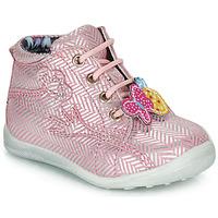 kengät Tytöt Bootsit Catimini SALAMANDRE Pink