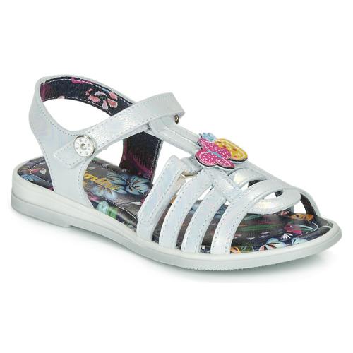 kengät Tytöt Sandaalit ja avokkaat Catimini SICALE White