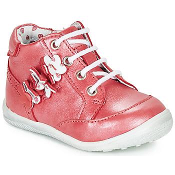 kengät Tytöt Bootsit Catimini SOLDANELLE Punainen