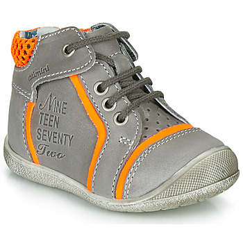 kengät Pojat Bootsit Catimini SEREVAL Grey / Orange
