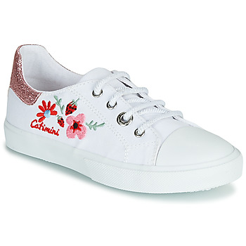 kengät Tytöt Matalavartiset tennarit Catimini SAXIFAGE White