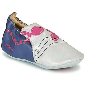 kengät Tytöt Tossut Catimini SIRENE Sininen-valkoinen / Dpf
