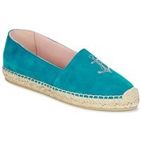 kengät Naiset Espadrillot Pretty Ballerinas ANGELIS Turkoosi