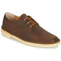 kengät Miehet Derby-kengät Clarks DESERT CROSBY Ruskea