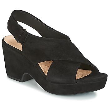 kengät Naiset Sandaalit ja avokkaat Clarks MARITSA LARA Black