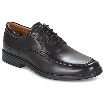 kengät Miehet Derby-kengät Clarks UN ALDRIC PARK Black