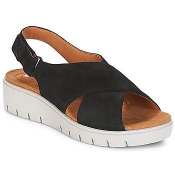 kengät Naiset Sandaalit ja avokkaat Clarks UN KARELY HAIL Black