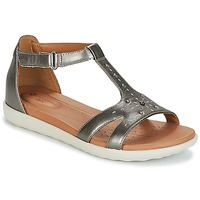 kengät Naiset Sandaalit ja avokkaat Clarks UN REISEL MARA Hopea