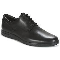 kengät Miehet Derby-kengät Clarks VENNOR WALK Black