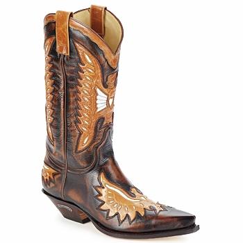 kengät Miehet Saappaat Sendra boots CHELY Ruskea
