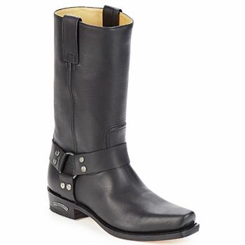 kengät Miehet Saappaat Sendra boots EDDY Musta