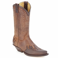 kengät Saappaat Sendra boots DAVIS Brown